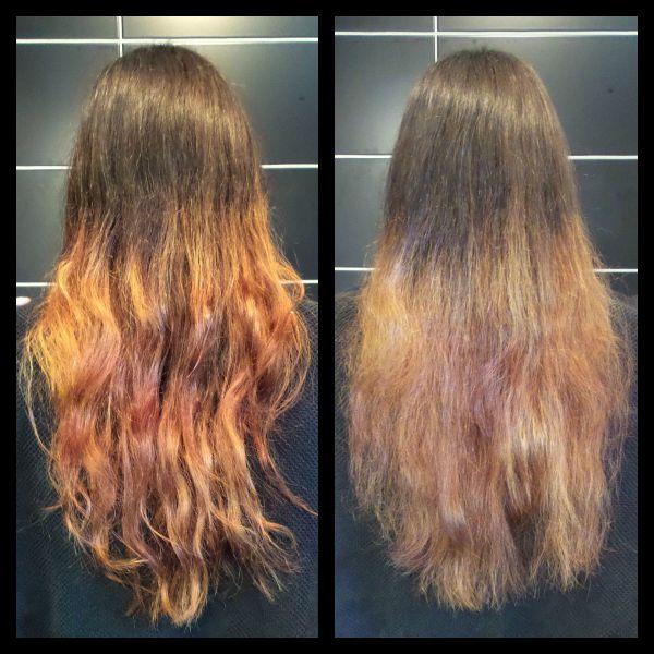 sönderblekt hår vad göra