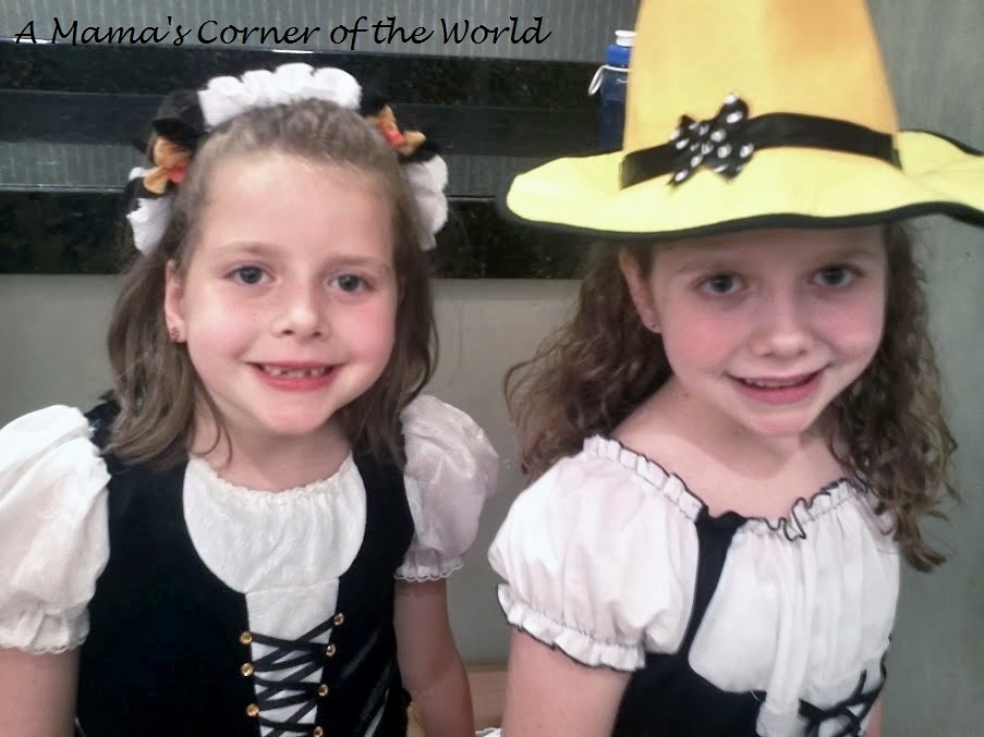 all dressed up and ready to dance - Halloween Feis