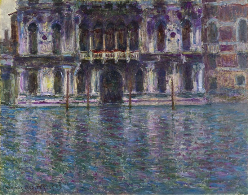 Claude Monet  Le Palais Contarini