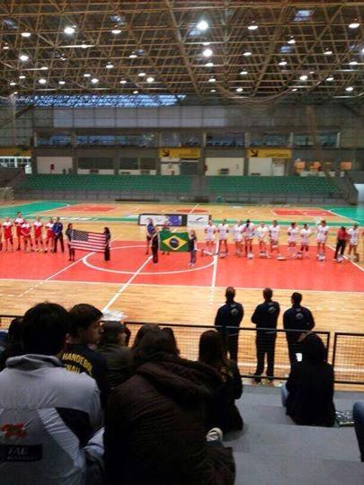 Amistoso Blumenau - USA | Mundo Handball