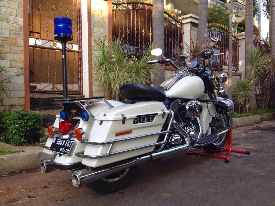 DIJUAL Harley Davidson Roadking Police 2013 MABUA - JAKARTA - LAPAK