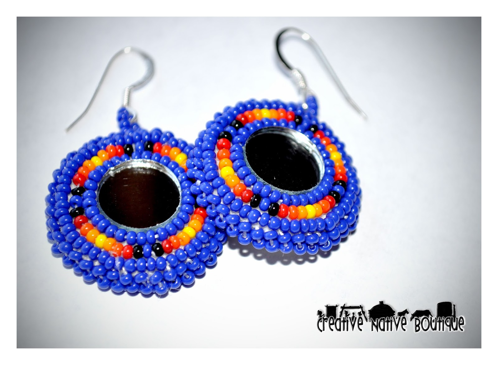 New Beaded Earrings In My Etsy