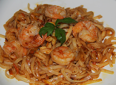 Рецепт фунчозы с морепродуктами пошагово