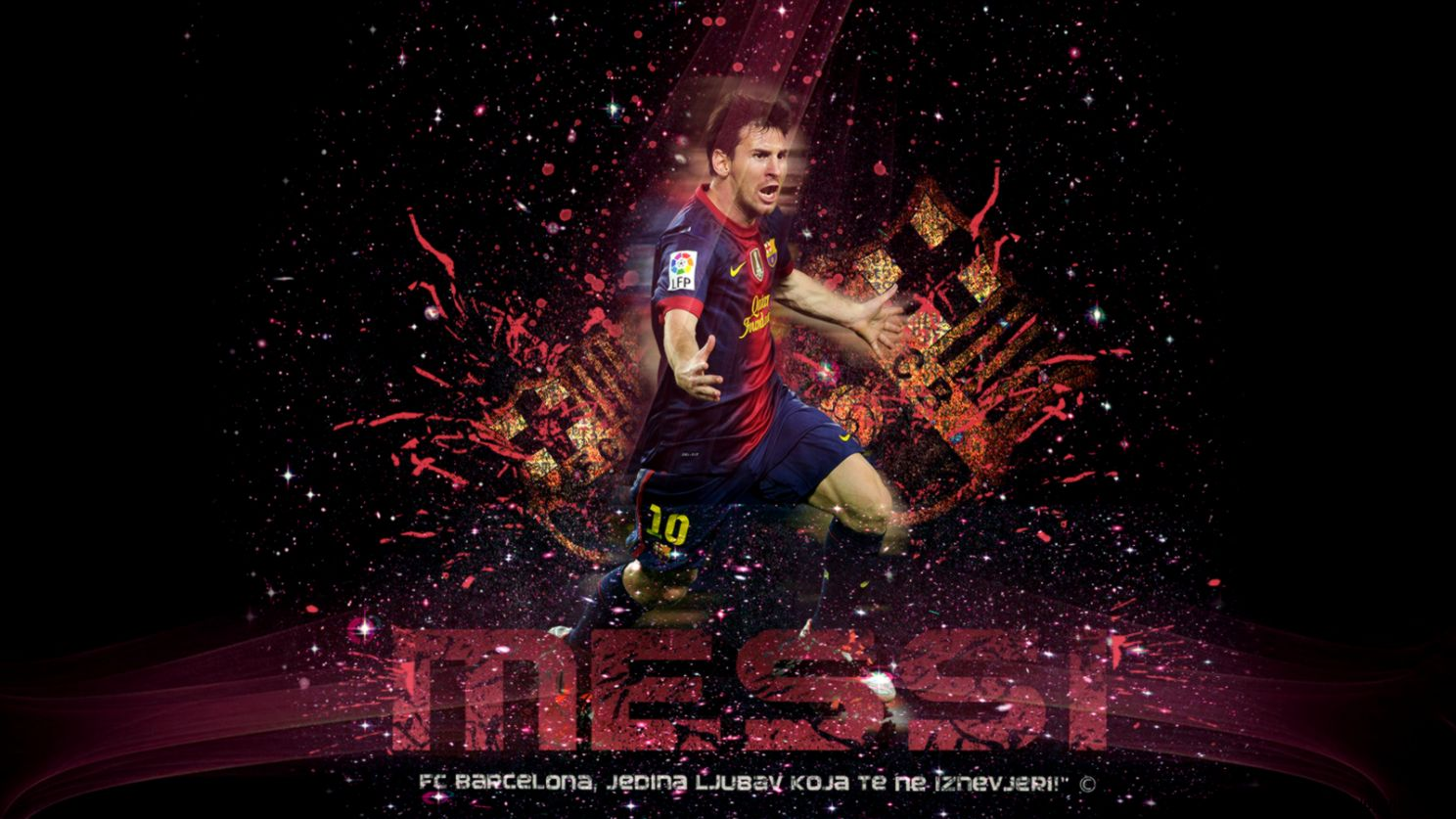 Lionel Messi Wallpaper 2013 by ToniDesign10 on DeviantArt