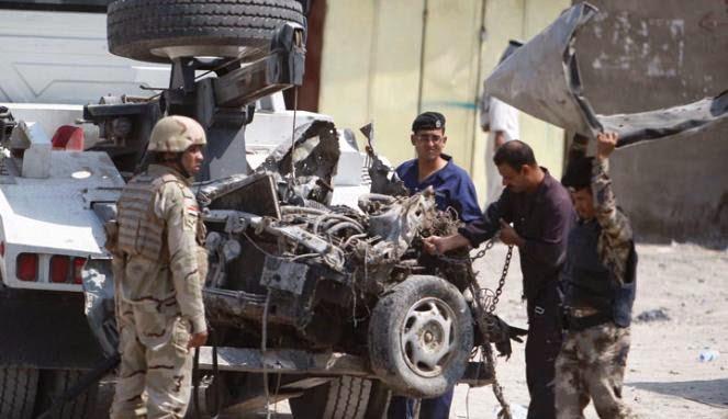 Pemilik Kafe di Irak Diajari Kenali Pengebom Bunuh Diri