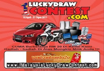 1 Malaysia Lucky Draw Contest