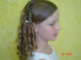 Um penteado facil e lindo para uma criança de - 12 a 14 anos