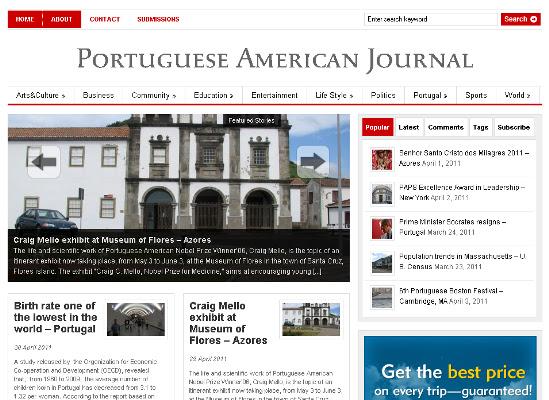 Portuguese American Journal usa inglês e internet para chegar aos jovens