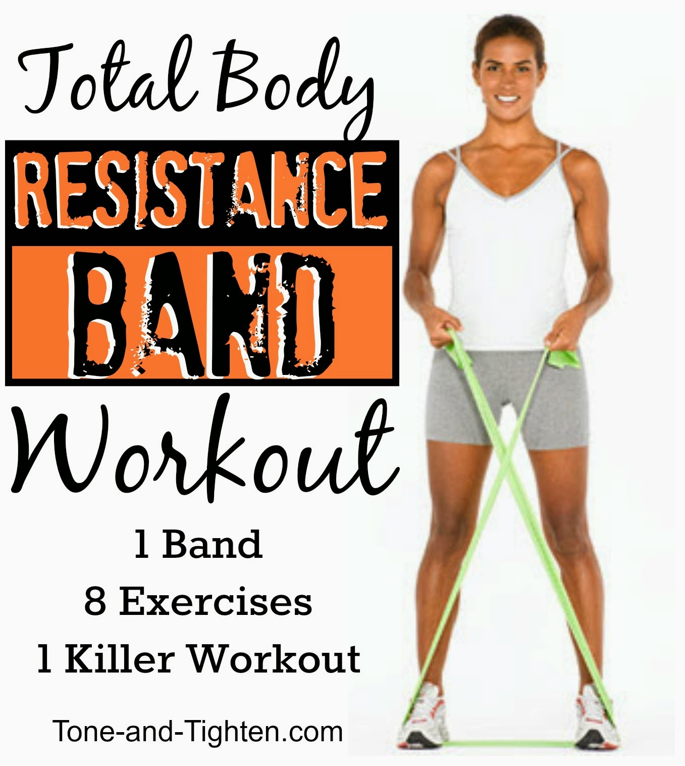 Resistance Bands Treadmill Workout: Tone & Tighten