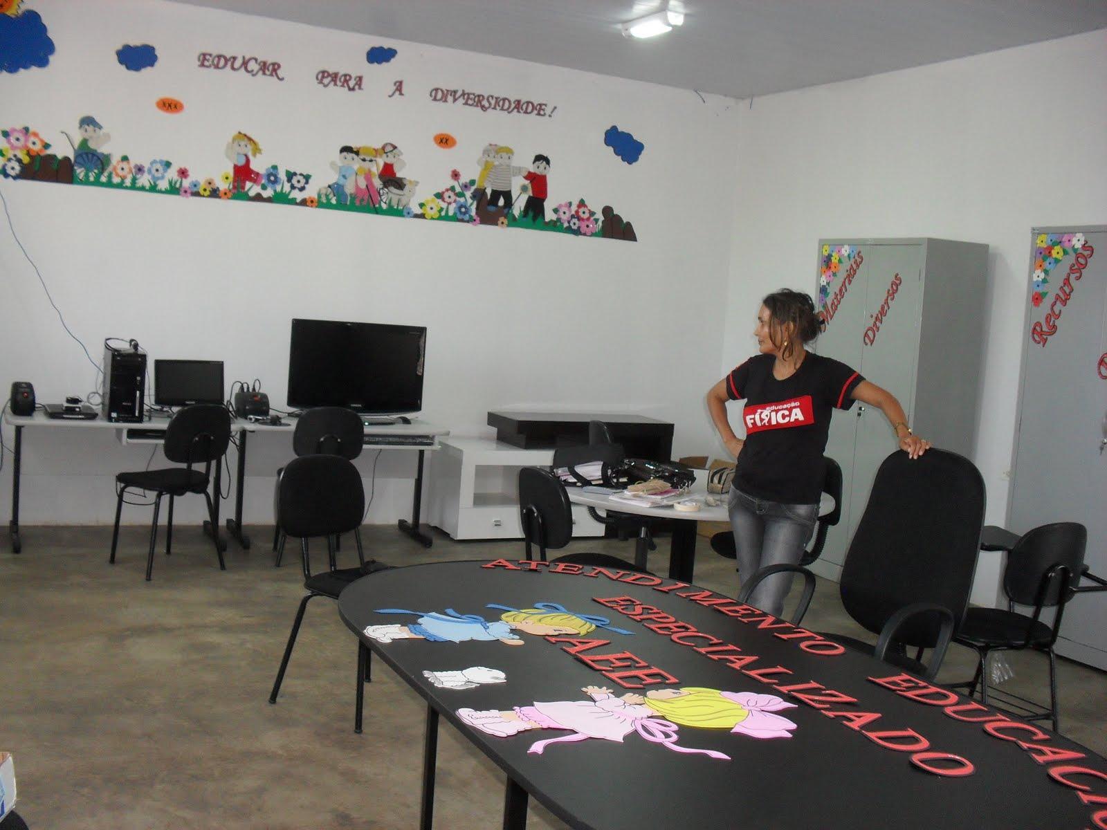 Escola Em Movimento Agosto 2011 -> Sala De Aee Decoracao