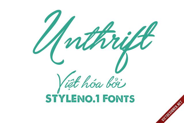 [Hand-write] Unthrift Việt hóa