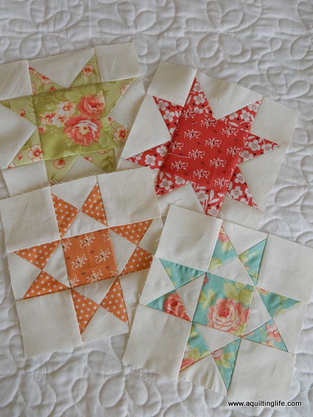Quilt Patterns Using 6 Inch Squares : Six inch Quilt Block Sampler Settings A Quilting Life - a quilt blog