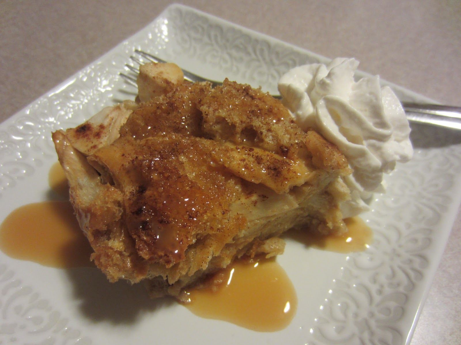 Renee's Kitchen Adventures: Caramel Apple Bread Pudding