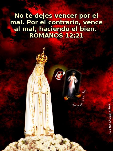 jeus maria y santa faustina con mensaje de la biblia