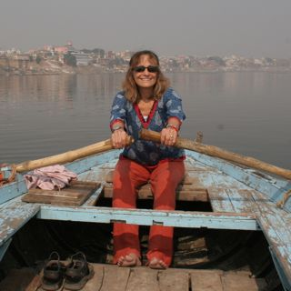 Floating on the Ganges