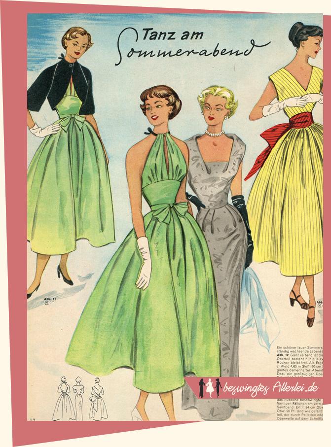 Tanzkleider 1954