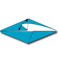 Cara Membuat Origami Lumba Lumba