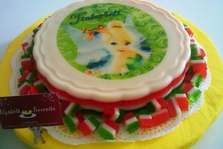 Tortas y Pasteles Bianca: Pastel Torta de Campanita Tinkerbell Y ...