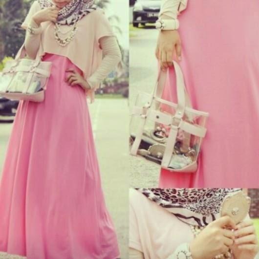 Rose-beige-hijab-fashion