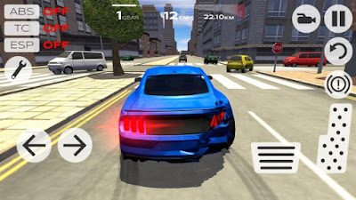 Extreme Car Driving Simulator Mod Apk v4.07-screenshot-2