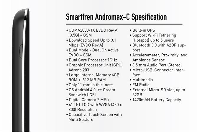 ... Andromax C, review Smartfen Andromax C, kekurangan Smartfen Andromax C