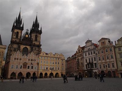 Plaza Staromestske Namesti de Praga (República Checa)