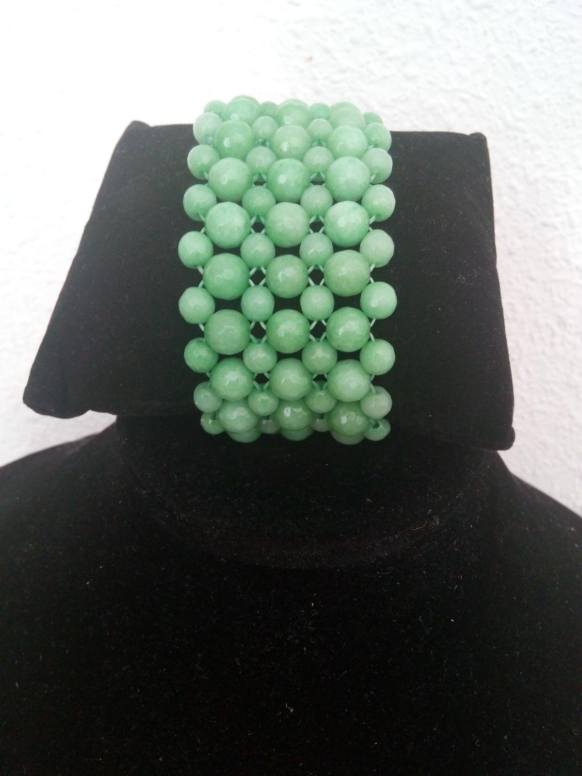 Pulsera ágata verde[Multicolores]