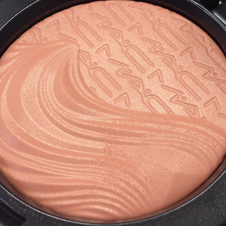 MAc Extra Dimension Blushes Blazing Haute