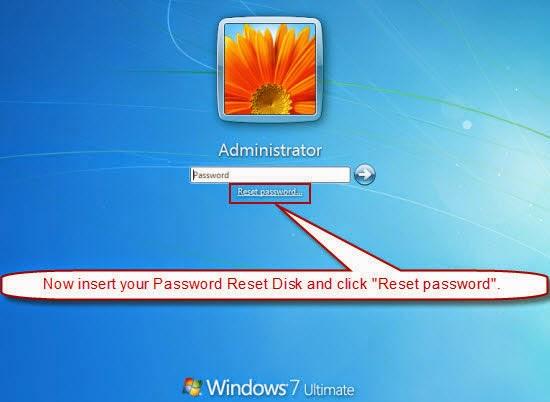 how to reset password on windows 7 login screen
