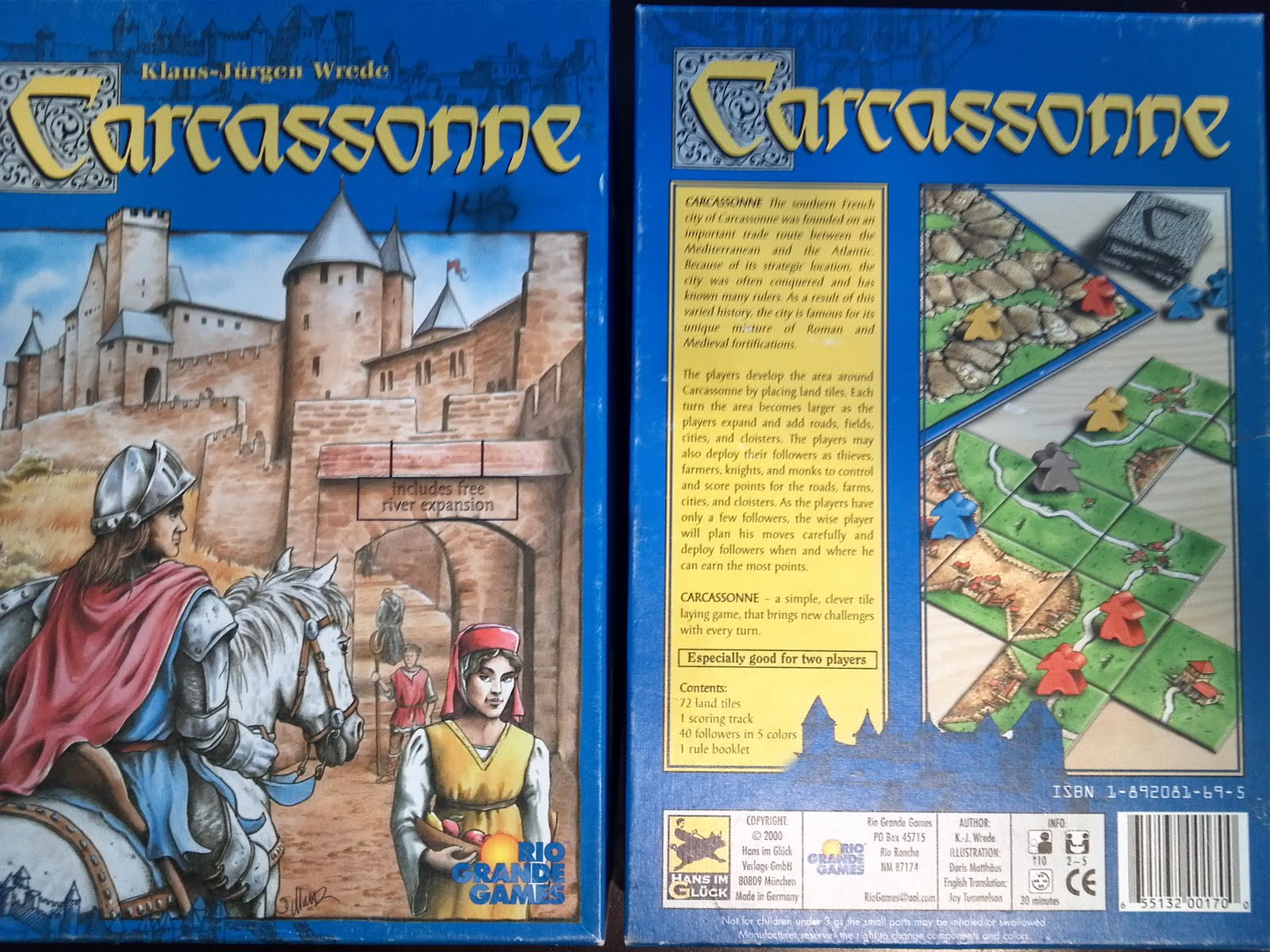 a board game a day carcassonne. Black Bedroom Furniture Sets. Home Design Ideas