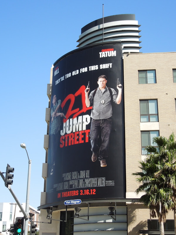 21 Jump St movie billboard