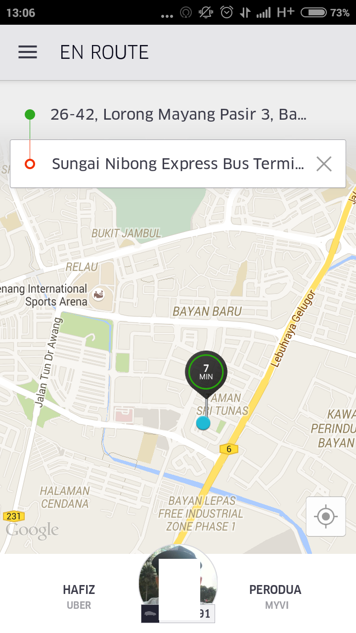 how to cancel uber trip before driver matched