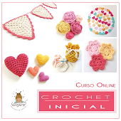 Curso Online - Crochet Inicial Shabby Chic style