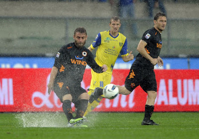 Hasil Pertandingan Roma Vs Chievo