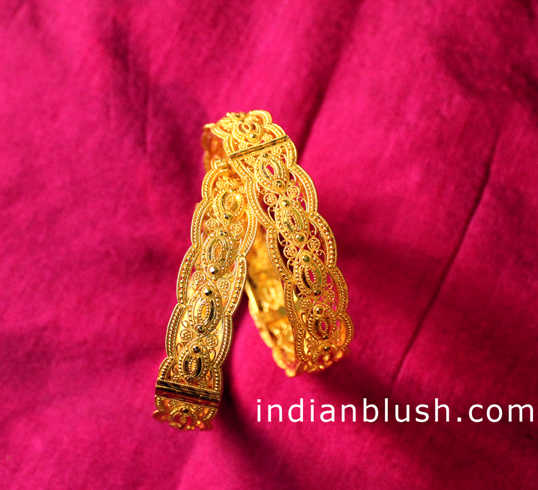Indian Blush: Traditional Bengali Gold Wedding Jewellery - Part II
