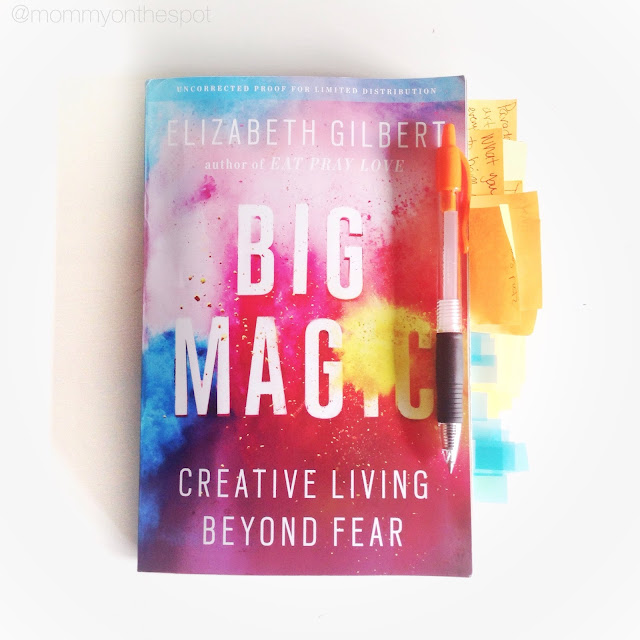 Erin Janda Rawlings Mommy on the Spot Book Review of Big Magic By Elizabeth Gilbert /Nightline Segment