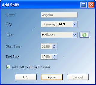 ABC Roster - Software gratuito para Organizar los horarios y turnos de tus empleados