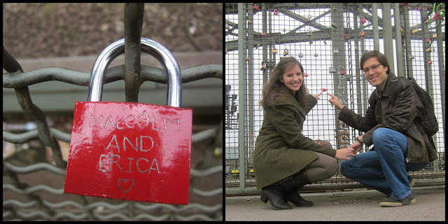 love lock bridge koln cologne