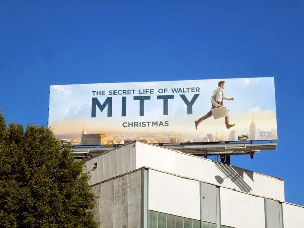 Secret life of Walter Mitty movie billboard
