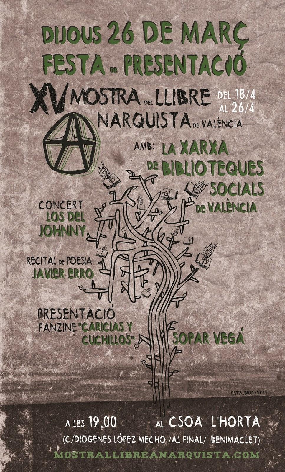 Presentación Mostra Llibre Anarquista