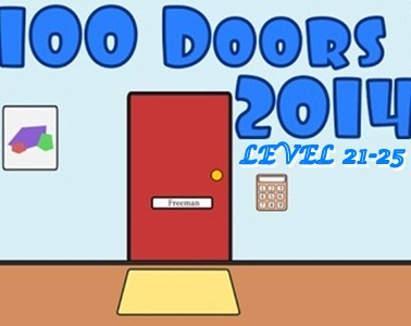 Game 100 Doors 2014 Level 21 22 23 24 25 Guide