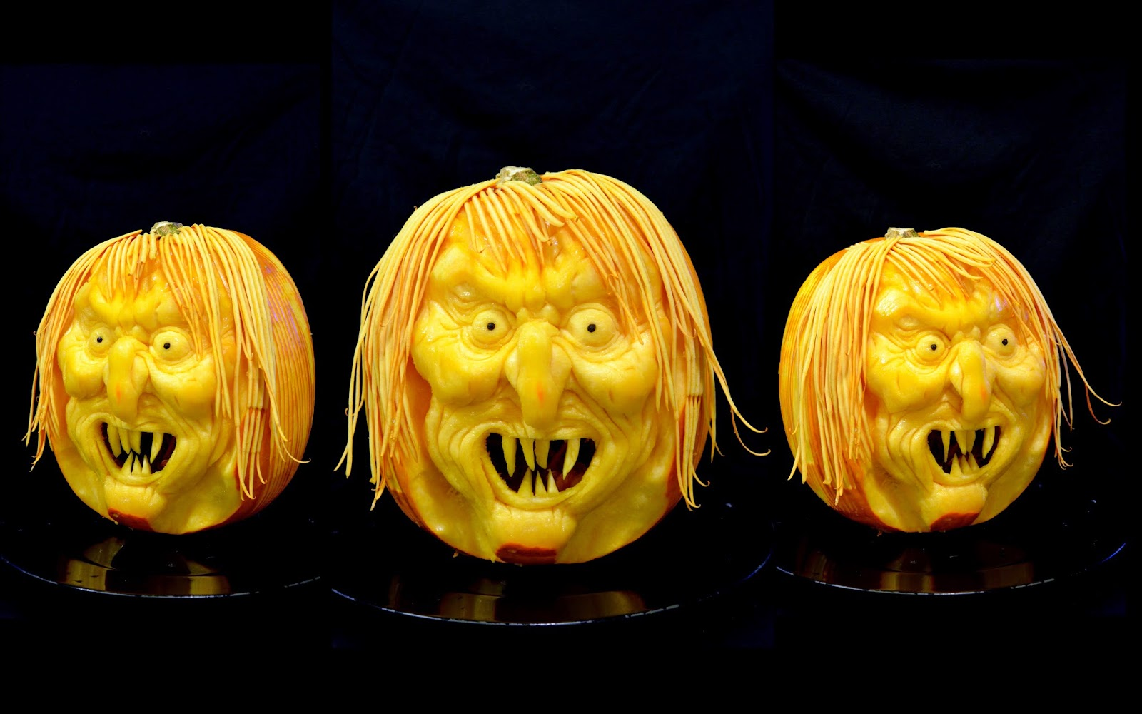 Food carving ivelin stanchev halloween