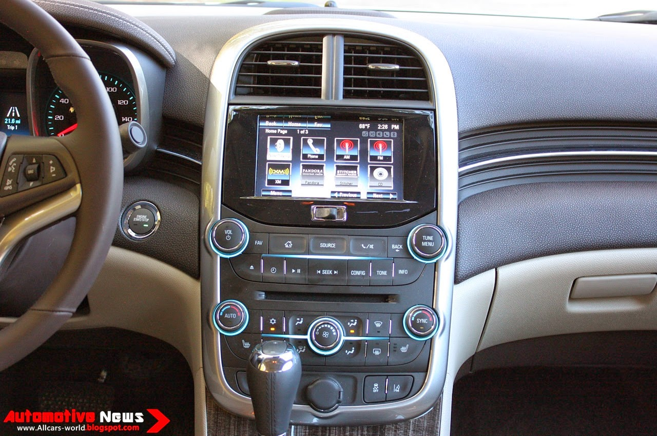 The Interior Of The Malibu Keeps The Style And Of The Design E Older Model,  While Updating Some Of Its Tech Packages, Offering New Color Combos And ...