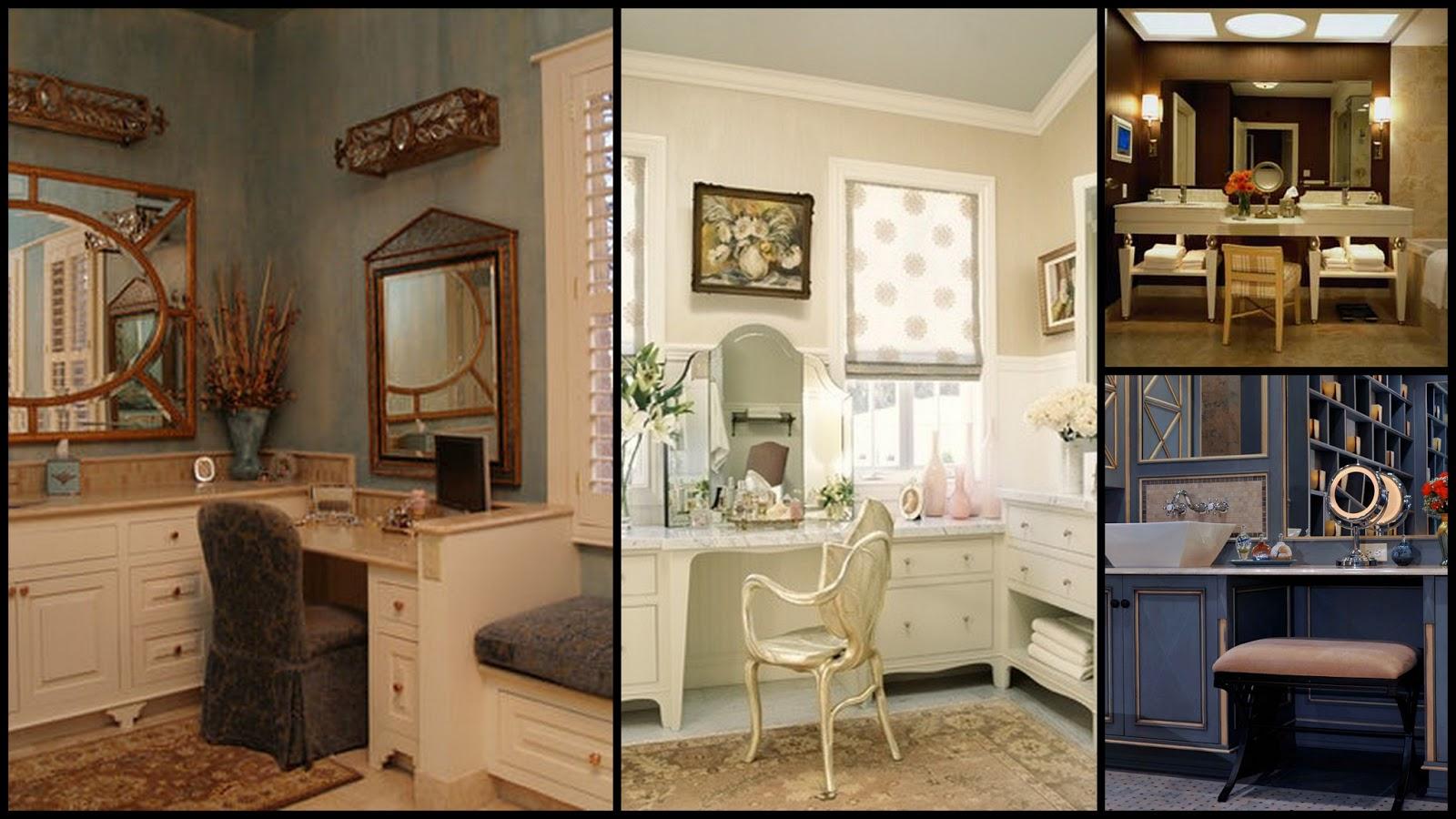 Salle de bain avec coiffeuse perfect salle de bain avec - Coiffeuse salle de bain ...