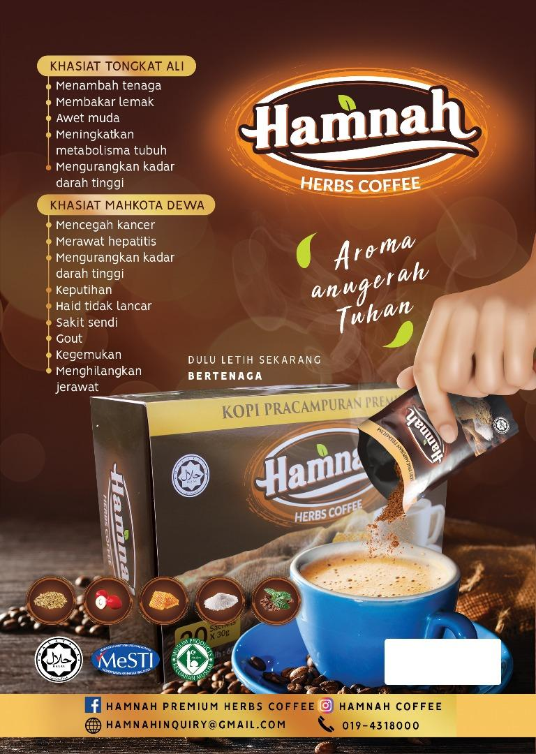 Hamnah Herbs Coffee