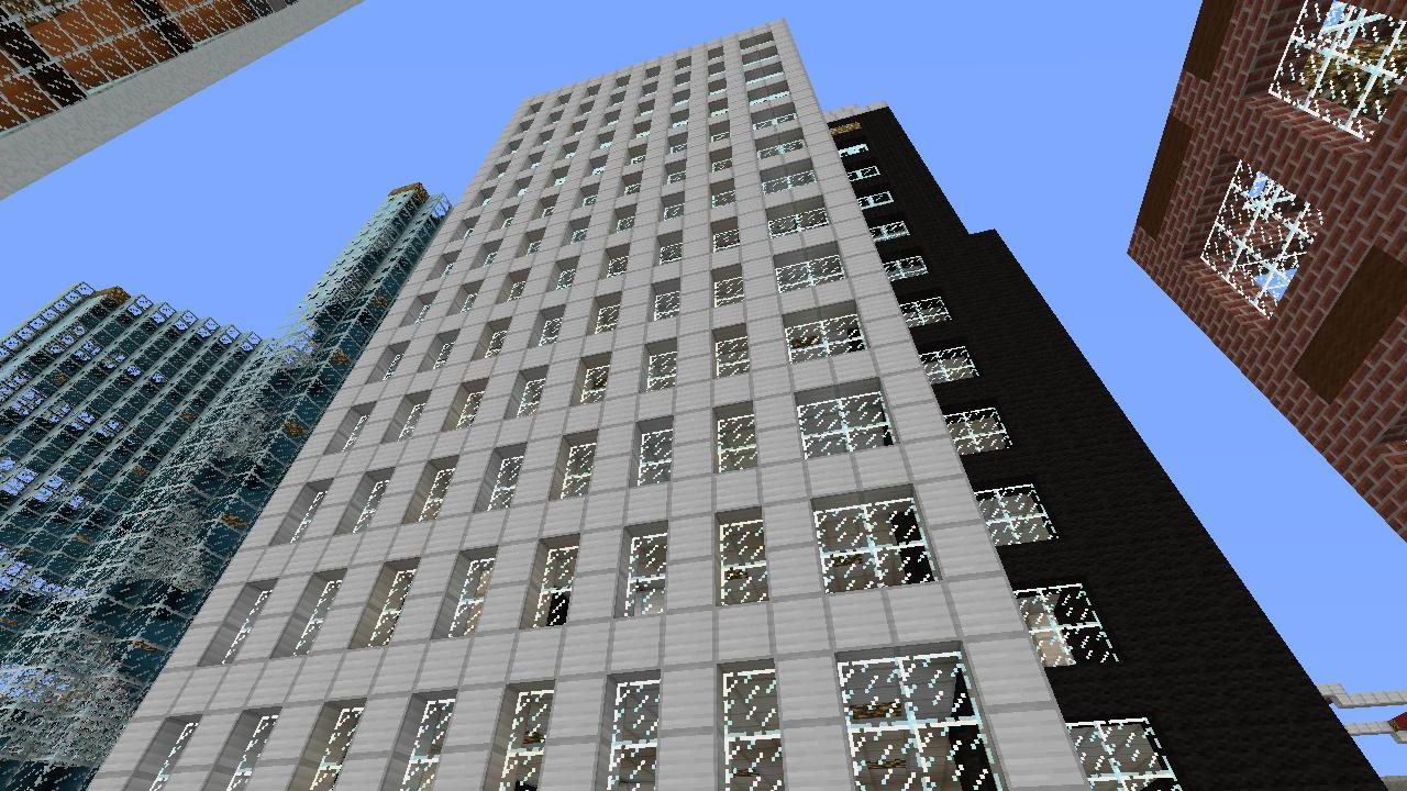 Minecraft Apartment Building Viewing Gallery