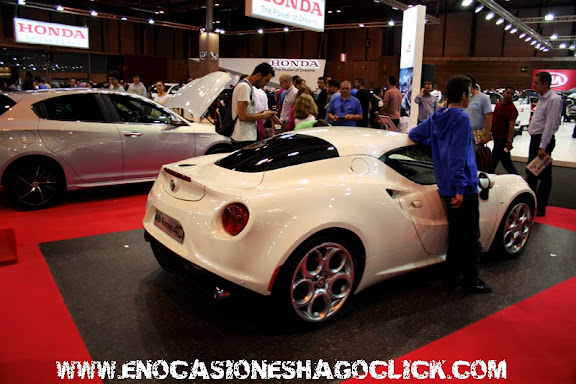Alfa Romeo 4C salon del automovil de madrid 2014