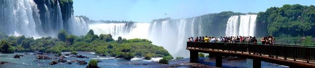 Iguassu falls, Argentina & Brazil