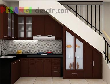 Kitchenset Pelangi Desain Interior Kitchen Set Coklat Brown