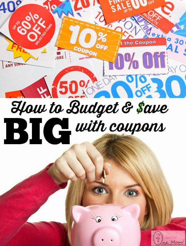How To Save Your Budget With Coupons and Start Couponing One Savvy Mom